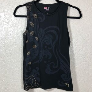 PUMA Active Top with keyhole opening in back EUC